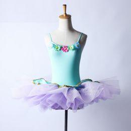 China Ballet Adulte Costume Gymnastic Leotard For Dance Girls Ballet Dress Romantic Bud Ballerina Dress Kids Tutu Leotard cheap women romantic costumes suppliers