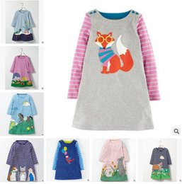 Discount red bird costume - Ins Clothes Baby Girls Dress Bird Animal Fox Vestidos Christmas Dress Princess Costume for Kids Clothes Long Sleeve Gift