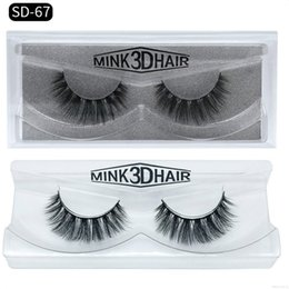 f6654aefed3 Mink Lashes Sale NZ - Hot Sales Private Label 3D Mink Eyelashes Fake Faux Lash  Extension