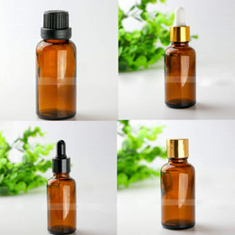 $enCountryForm.capitalKeyWord NZ - 440Pcs Lot 30ml Amber Glass Dropper Bottle For Essential Oil Display Small Serum Perfume , Brown Sample Dropper Vials 30 ml Test Bottles