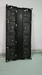 Venta al por mayor de 500x1000mm interior rgb led pantalla de visualización p3.91 gabinete interior de aluminio fundido a presión para alquiler de video publicitario de pared pantalla led