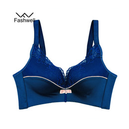 59541a5bc9b8bc Fashion New Sexy Ladies Lace Bralette Adjustable Women s Bras Intimates  Push Up Bra For Women plus size brassiere