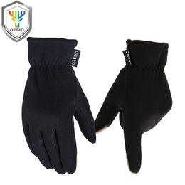 Discount moto racing gloves - OZERO Men's Motorcycle Gloves Screen Touch Moto Gloves Winter Outdoor Warm Waterproof Sports Racing Cycling Bike Gl