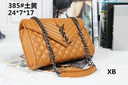 $enCountryForm.capitalKeyWord NZ - Famous designer handbags New brand women messenger bag fashion chain single shoulder bag European and American fashion women bag #02
