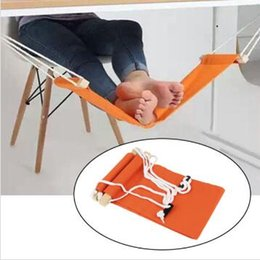 8ece9d217e3 10 Color FUUT Office Foot Hammock Leisure Home Furniture Desk Hamac Chair  Feet Tool Outdoor Rest Table Stand Study Hammock CCA10469 30pcs