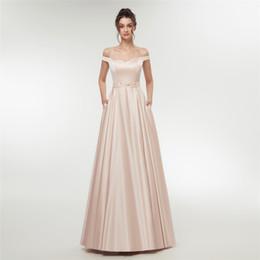 $enCountryForm.capitalKeyWord UK - Pink Off Shoulder Long Red Pink Prom Dresses Formal Party Dress For Graduation Customer Made Plus Size E003