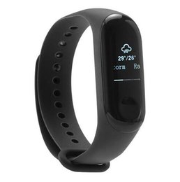 """Fitness Band Trackers NZ - [International Version] Original Xiaomi Mi Band 3 Smart Bracelet 0.78"""" OLED Touch Screen 5ATM Water Resistant Sports Fitness Tracker Reject"""