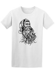 $enCountryForm.capitalKeyWord NZ - Santa Claus Xmas Beard Hipster Men's Tee -Image by Shutterstock Print Tee Men Short Sleeve Clothing TOP TEE Cotton Shirts Cheap Wholesale