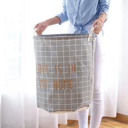 $enCountryForm.capitalKeyWord NZ - Dirty Clothes Basket Folding Waterproof Clothes Laundry Basket Old Newspaper Sundries Toy Portable Large Bathroom Dirty Storage Barrels