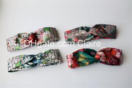 530e6b11e66 GG Blooms Silk Headband Womens Classic Elastic Stretchy Band Hairband  Headband Hair Accessories Pink Blue Hair Band 4 Colors Bandanas