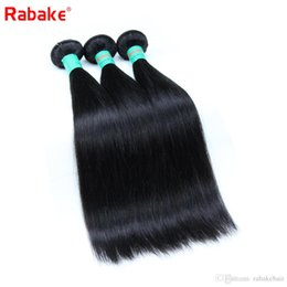 silky hair extensions 2019 - 8A Brazilian straight Virgin Hair 3 or 4 Bundles Wholesale Rabake Cheap Brazilian Silky Straight Virgin Human Hair Weave