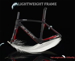 58cm frame 2019 - Popular carbon road frame 49 52 54 56 58CM Di2 And Mechanical Both racing road bicycle frame warranty 2 years EMS Free S