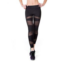 China 2018 Newest Leggings For Fitness Sexy Sport Women Skinny Elastic Fitness Leggings Yoga Pants Breathable Training High Waist Sports Pants suppliers