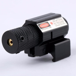 Powerful Tactical Mini Red Dot Laser Sight Scope Weaver Picatinny Mount Set for Gun Rifle Pistol Shot Airsoft Riflescope Hunting on Sale