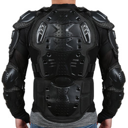 Liplasting Motorcycle Full Body Armor Shirt Jacket Back Shoulder Protect Gear S-XXXL Black Red free shipping on Sale
