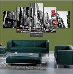 $enCountryForm.capitalKeyWord Australia - 5 Panels Picture New York City HD Canvas Print Decorative Wall Pictures Painting For Home Decoration Poster Gift Hotel Decor