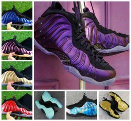 $enCountryForm.capitalKeyWord Australia - 2018 Cheap Basketball Shoes Penny Hardaway For Men Sports Sneakers Foam One Eggplant Purple Mens Night Maroon Gum Brown Sport Sneakers 41-47