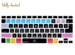 "Macbook Logic Australia - For Mac Air Pro Retina 13""15""17"" EU US Logic Pro X Spanish Hotkey Shortcuts Function Silicone Keyboard Cover Protector Skin"