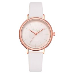 7273deaba5 Fashion Women Quartz Watch Rose Gold Watch New Brand Candy Color Strap  Luxury Ladies Vintage INS Style Wristwatch Clock LS1085