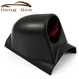 "$enCountryForm.capitalKeyWord NZ - HB Black 2"" 52mm Car Universal A-Pillar Single Hole Dash Gauge Meter Pod Mount Holder Left Hand Drive"