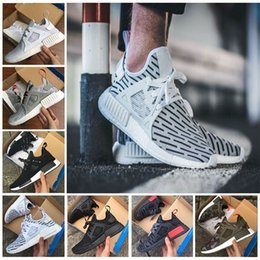 Discount army duck fabric Wholesale Cheap New NMD XR1 Booster Duck Camo Navy White Army Green High Quality MND Net Size Running Shoes Size 36-45 Free Shipping