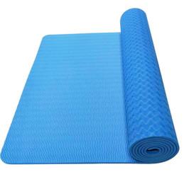 Оптом, таможня, удлинить расширил йога коврик TPE йога коврик новичок 8 мм фитнес йога коврик три кусок набор поколения