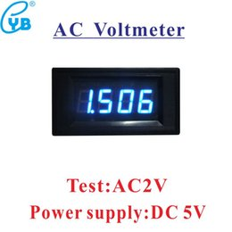 $enCountryForm.capitalKeyWord Australia - AC2V Red LED Digital Display Voltmeter Mini Voltage Meter Volt Tester Panel for DC 5V Cars Motorcycles Vehicles Voltage Monitor