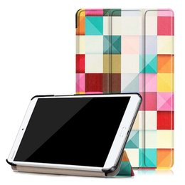 Huawei Tablet Stand Australia - Fashion PU Leather Cover Case For Huawei MediaPad T3 7.0 BG2-W09 Tablet Case Smart Cover Stand Funda Tablet case+Stylus Pen+Film