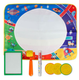 $enCountryForm.capitalKeyWord Australia - 69*56cm Drawing Toys Water Drawing Mat Board Painting and Writing Doodle With Magic Pen Non-toxic Drawing Board for Kids YH1383