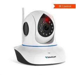 IR Kontrol Wifi IP kamera kablosuz ağ kamera desteği uzaktan kumanda TV, klima, projektör ve diğer cihaz