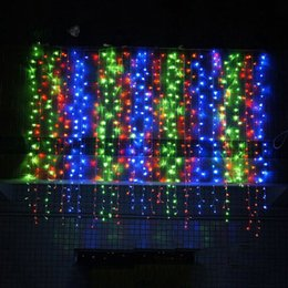 Birthday parties decoration online shopping - NEW Design m Led Curtain Fairy Light Decor String Light Beautiful New Year Party Lamp Led For Christmas Wedding Birthday