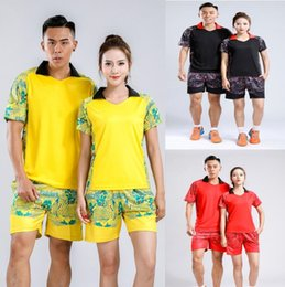 Sportswear T Shirt Badminton Australia - New 2018 men women Badminton wear t-shirt,Tennis jersey Clothes,Badminton Tennis clothes,Breathable sport shorts,Tennis sportswear shirt