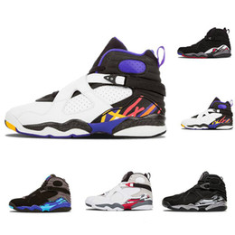 ccacbf07dc8343 2018 New 8 8s Aqua Chrome Playoffs Three Peat Champane Bugs Bunny Mens  Basket ball Shoes Sneakers Cheap Sport shoes Athletic Shoes size 8-13