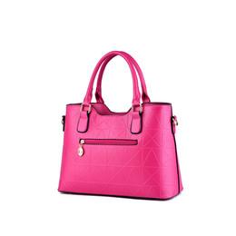 $enCountryForm.capitalKeyWord NZ - WONZOM 2018 New Arrival 10 Candy Colors Women Bags Fashion Simple Solid Lattice Lady Handbags Shoulder Bags High Quality Elegant
