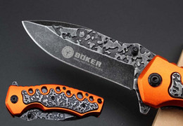 Boker knife survival camping online shopping - Best Survival gear Boker F96 Assisted Fast Open TACTICAL Folding Pocket Knife Cr13Mov Blade Christmas gift knife D709Q