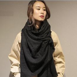 Caxemira produção da fábrica por atacado e atacado lenço de lã SWR0329 moda ponto de cor de seda deve xaile