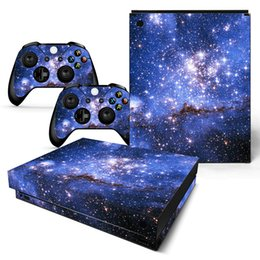 Discount xbox console skins - Cool Deep Space Full Set Skin Sticker Protective Vinyl Decals For Microsoft xbox one X Console and 2 Controllers