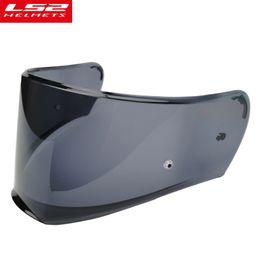6da0b6f3 Ls2 visor online shopping - original LS2 FF390 Breaker Chrome plated helmet  lens silver rainbow smoke