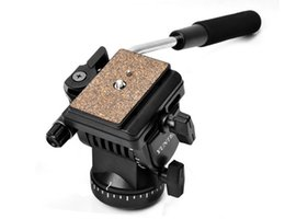 Discount dslr camera rails - YUNTENG YT-950 950 360 Degrees Hydraulic Pressure Fluid Drag Tripod Head For DSLR DV Video Camera Shooting Filming Slide