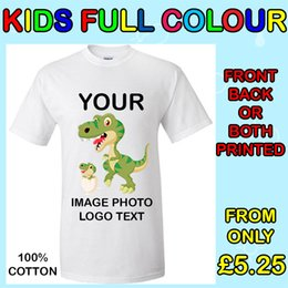 $enCountryForm.capitalKeyWord NZ - Your Image Text Photo Logo - Kids Custom T-Shirt Printing Personalized