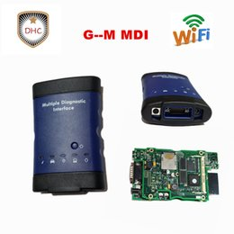 free car diagnostic software 2018 - 2018 Best Quality For G--M MDI Diagnostic tool With WIFI Software For g-m mdi Auto Car Scanner tool by DHL free shipping