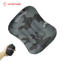 $enCountryForm.capitalKeyWord NZ - Camping Pillow for Airplane Inflatable Neck Pillow Mini Travel Accessories 4 Colors Comfortable Pillows for Sleep Home Textile