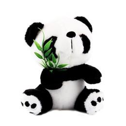 $enCountryForm.capitalKeyWord UK - New Lovely Stuffed Animal Plush Baby Kid Toy Doll Girlfriend Gift Panda Bamboo High Density Super Soft Short Plush Toy
