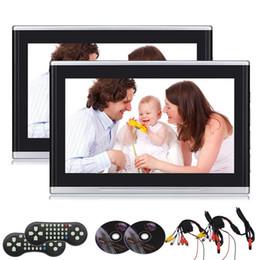 $enCountryForm.capitalKeyWord NZ - Eincar 10.1'' Dual Screen Car Headrest DVD Player Clip Games HDMI USB SD Port IR FM Transmitter,Car dvd Video Player Entertainment