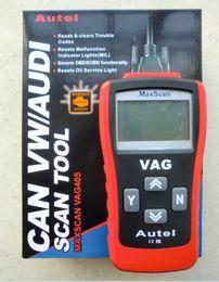 Obd Tool Vag Australia - Autel Vag405 Code Reader Vag Obd 2 In 1 Code Reader OBD Vag 405 OBDII Scan Tool