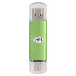 China The 32GB USB 2.0 Micro USB OTG Flash Drive for Smartphone features and micro USB interfaces. It can be used suppliers