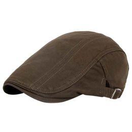 $enCountryForm.capitalKeyWord UK - High Quality Men Vintage Golf Caps Baker Peaked Hat Linen Cotton Retro Outdoors Golf Beret Flat Cap 2018 newest
