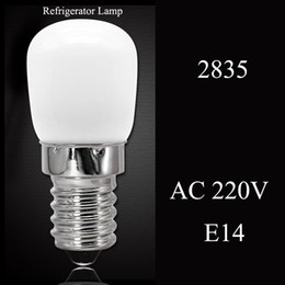 Globe Glasses Australia - Mini Lamparas Refrigerator Light E14 LED Lamp COB Glass Dimmable AC 220V Spotlight Bulbs Freezer Fridge Chandelier