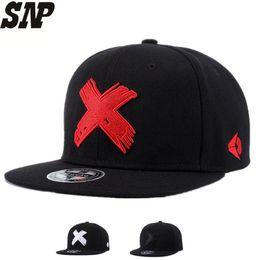 SNP Nuevos Hombres y Mujeres de Alta Calidad Gorra snapback X bordado de ala  plana gorra de béisbol juvenil hip hop y sombrero para niños niñas 78b7c02b25c