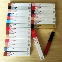 Venta al por mayor de En stock 22 colores de Liquid Matte Lipstick Lip 22 color Envío gratuito de alta calidad